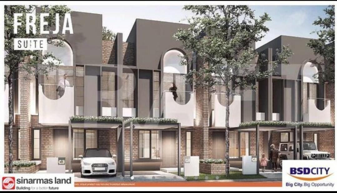 Freja Suites BSD City - Rumah Dijual Nih